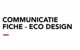 Communicatiefiche - ECO Design