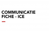 Communicatiefiche - ICE