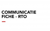 Communicatiefiche - RTO
