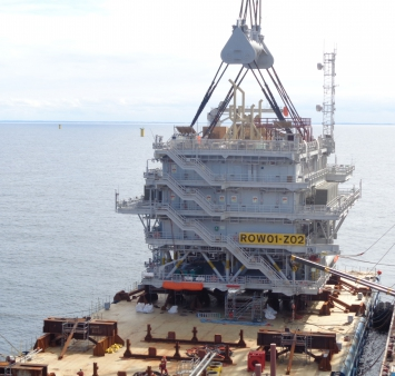 Offshore installation Race Bank 02