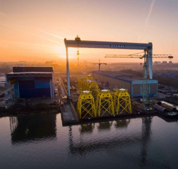 Smulders and Eiffage at Offshore Wind Energy
