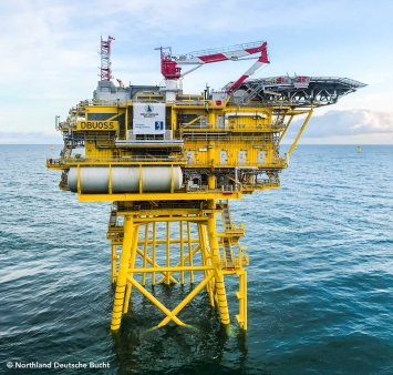 Deutsche Bucht offshore substation successfully installed