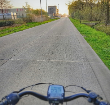 Going to work by bike