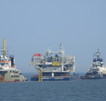 First Triton Knoll offshore platform successfully installed