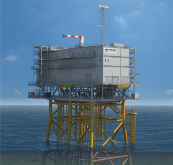 Iemants and ENGIE Fabricom win Hollandse Kust Noord offshore transformer station contract
