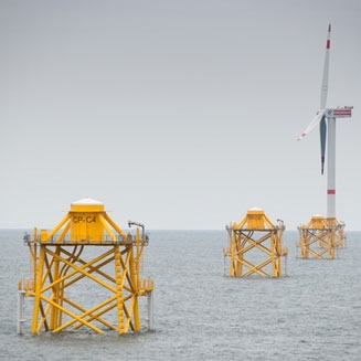 Thornton Bank II & III Offshore-Windpark / Jackets