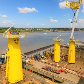 Yunlin Offshore Windpark | Transition Pieces